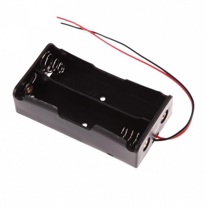 Suport carcasa baterii 18650 2buc