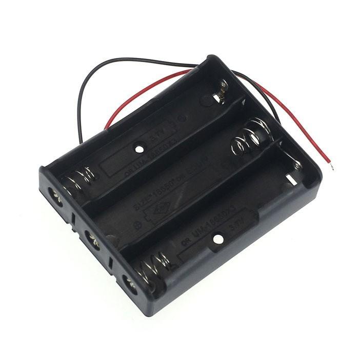 Suport carcasa baterii 18650 3buc