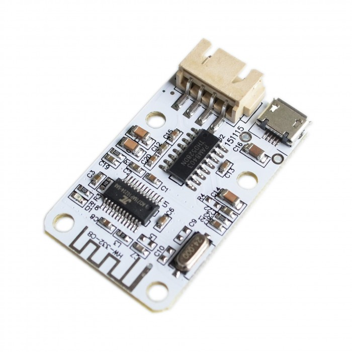 Bluetooth receiver with 2x3W audio amplifier