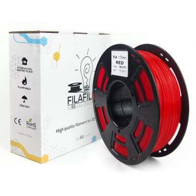 Filament PLA - PREMIUM - Rosu - 1Kg - 1.75mm