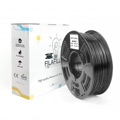 ABS Filament - PREMIUM - Black - 1Kg - 1.75mm