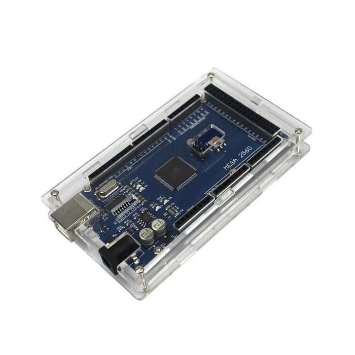 Carcasa Arduino MEGA 2560 din plexiglass