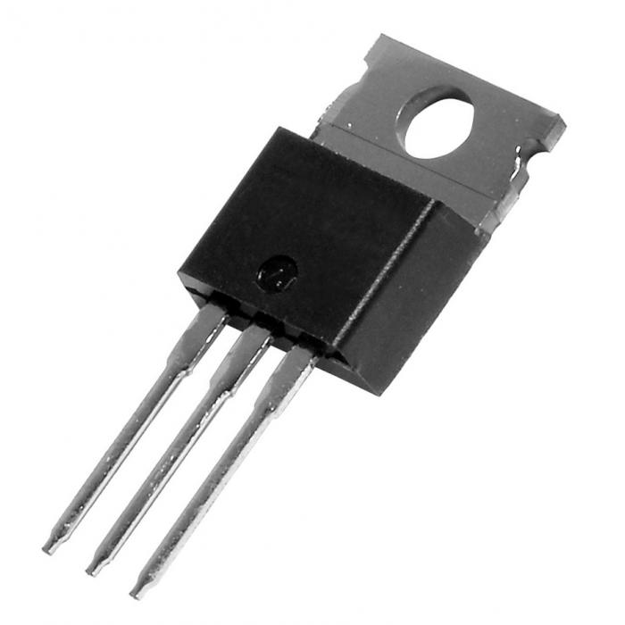 Voltage regulator L7805CV