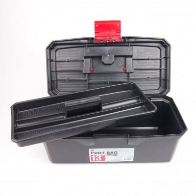 "Plastic tool box 13"""