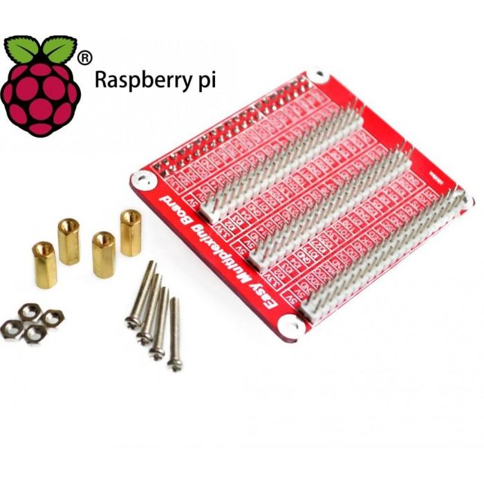 Placă de Expansiune IO 1 la 3 pentru Raspberry Pi 3B - 40 pini