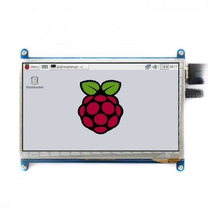 "Raspberry Pi 7"" display with touch 800*480 Capacitive"