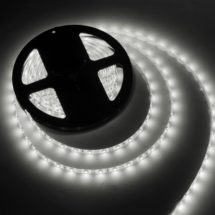Banda leduri SMD 3mm alb 5m 120led/m