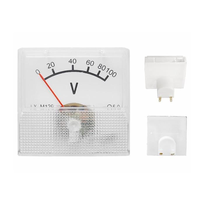 Analogic voltmeter 0-100V