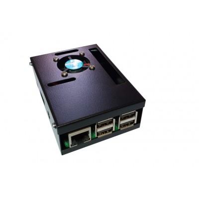 Carcasa metalica Raspberry Pi 3