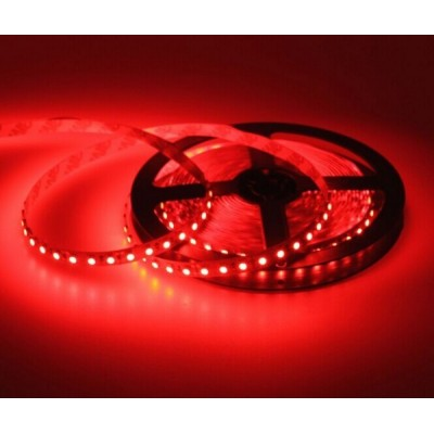 Ledstrip red 2835 60 led/m 5m