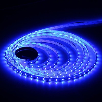 Ledstrip blue 2835 60 led/m 5m