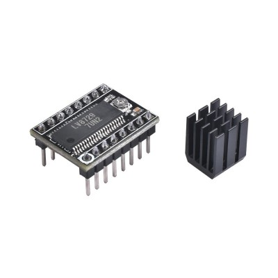 LV8729 Stepper motor driver + heatsink