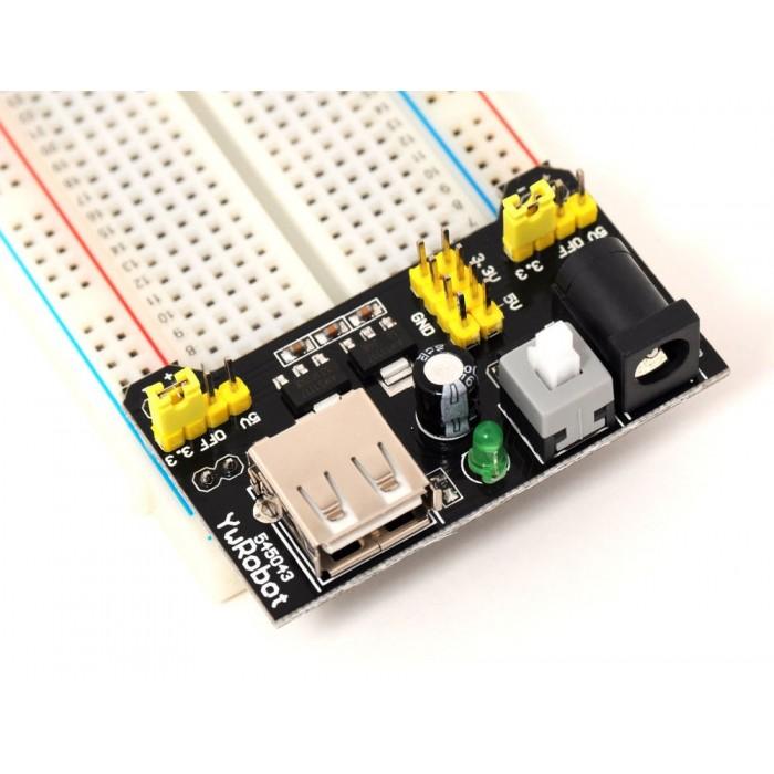 Power supply Module 5v - 3.3v breadboard
