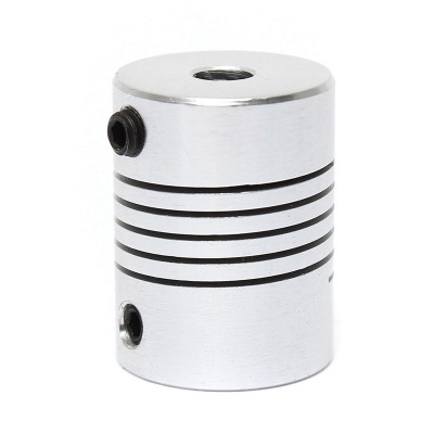 Flexible coupling - Al - 8mm - 8 mm