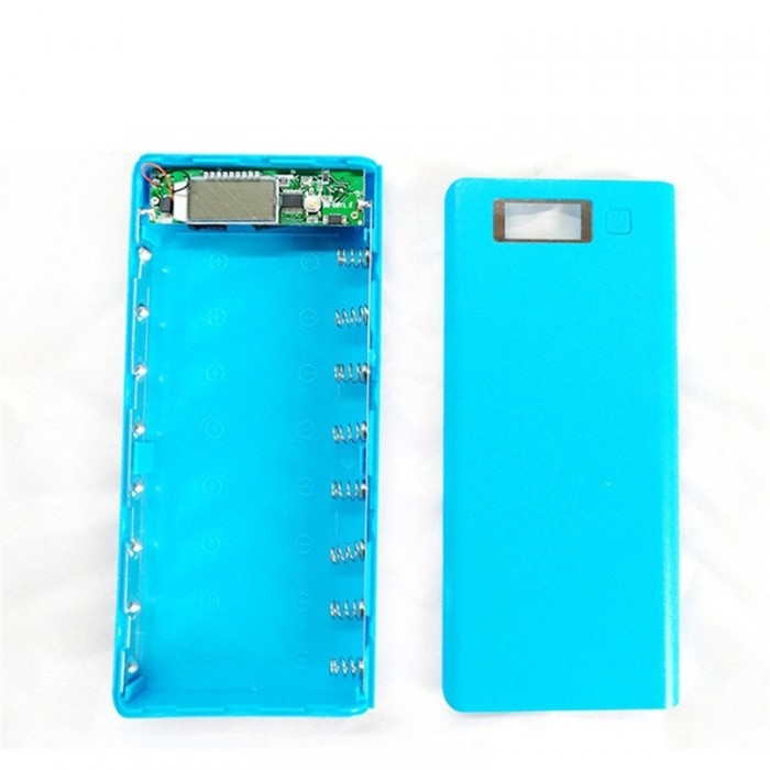 Set powerbank 8 celule cu display - DIY