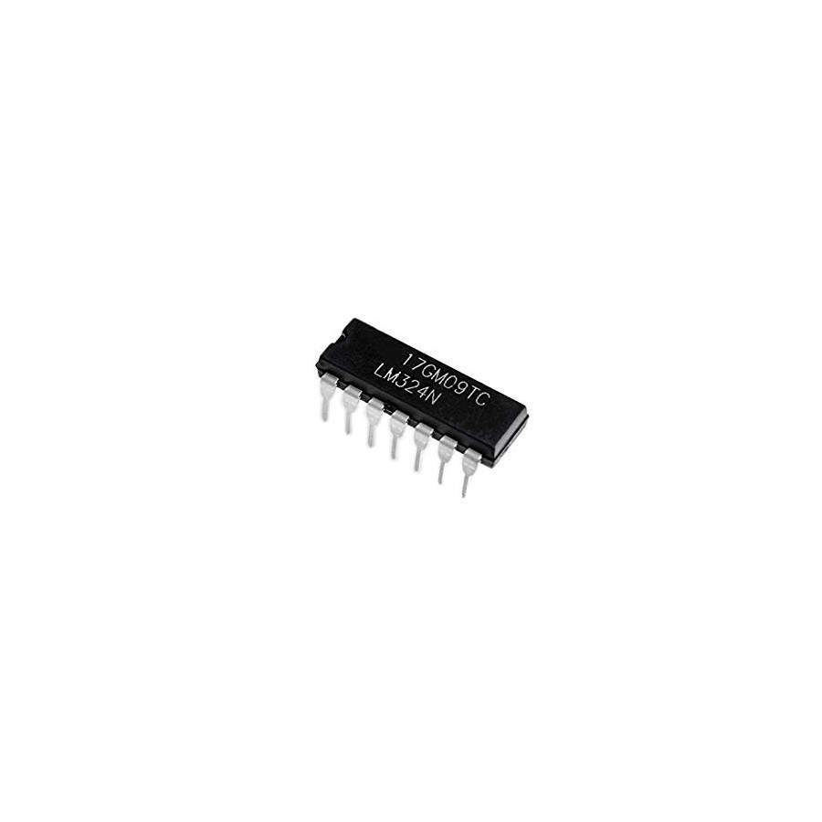 Operational Amplifier Lm324 4 Channels Dip Op Amp Ardushop The Amplifiers Electronics Lm324n