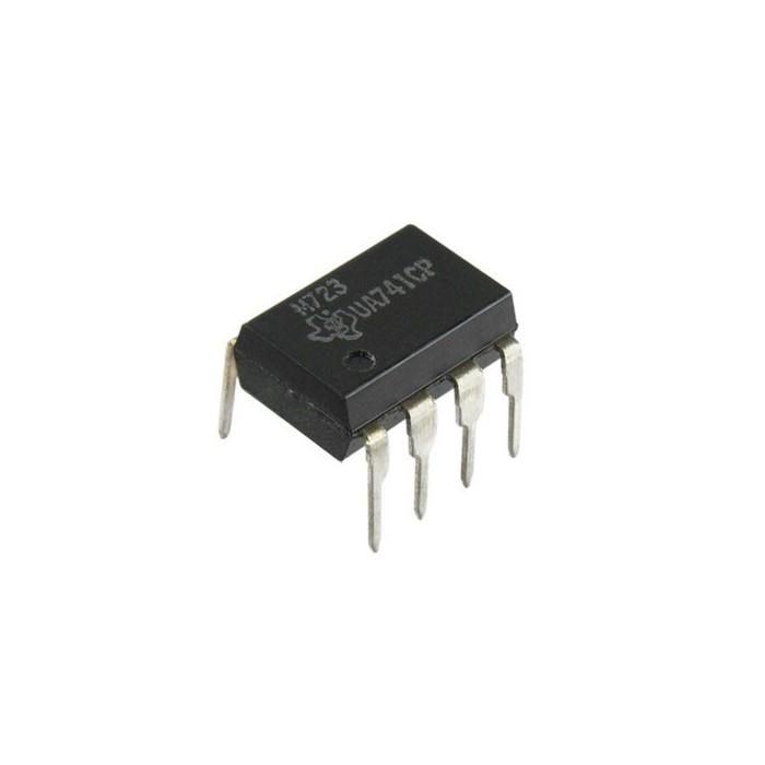 Operational amplifier UA741 - 1 channel DIP op-amp