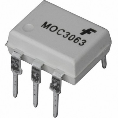 MOC3061 Zero-Cross Optoisolators Triac Drive