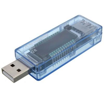 Voltmeter, ampermeter USB, 4V -20V, 3A