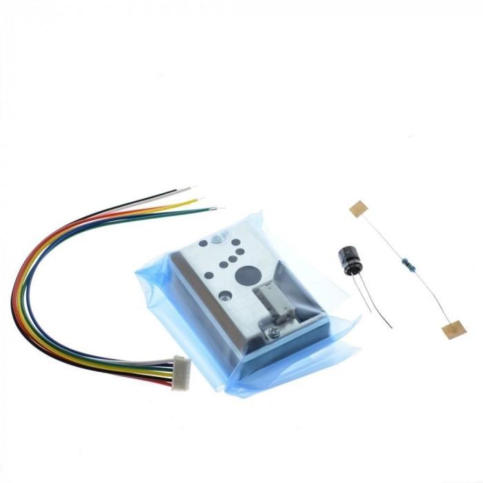 Optical Sensor for Smoke Particle
