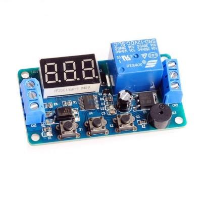 Modul temporizator releu 12V cu display