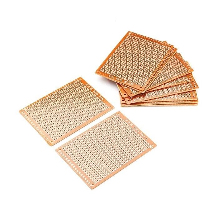 Placa de prototipare cablaj PCB 5x7 cm