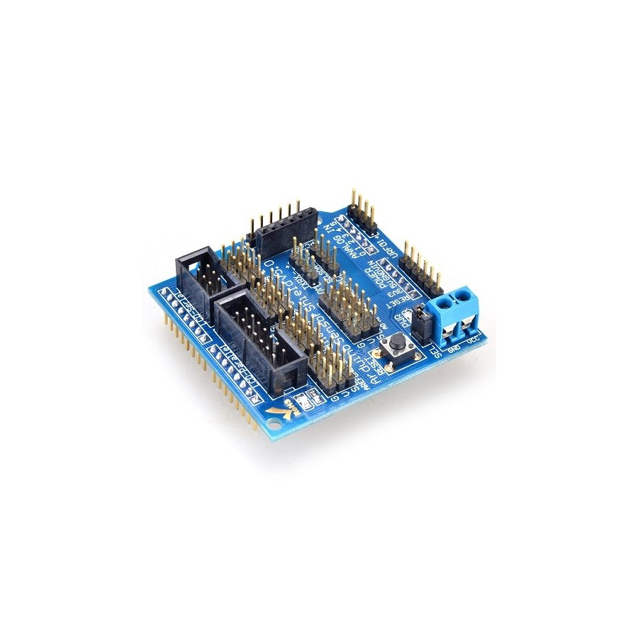 how to use arduino sensor shield
