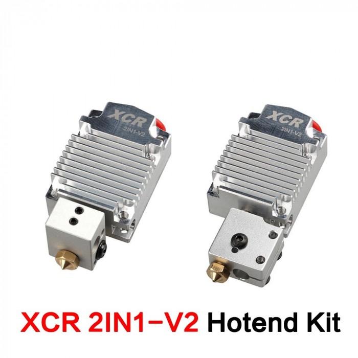 Hotend 2 in 1 XCR pentru imprimante 3D