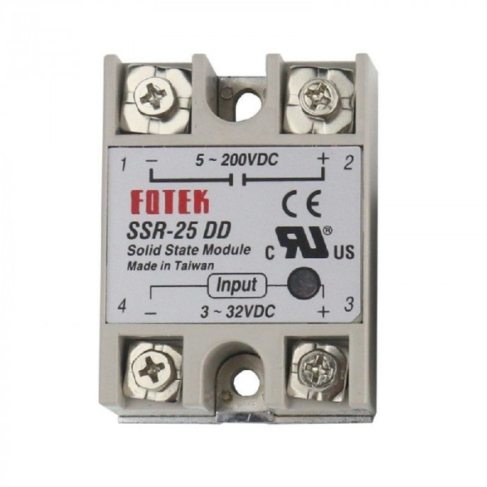Solid State Relay 25-90 DD