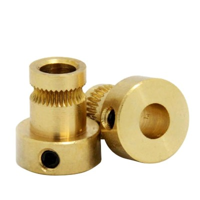 Filament Feeder Gear for 3D Printer