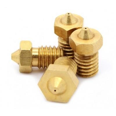 Duza (nozzle) M6 diametru de la 0.2 la 0.8mm