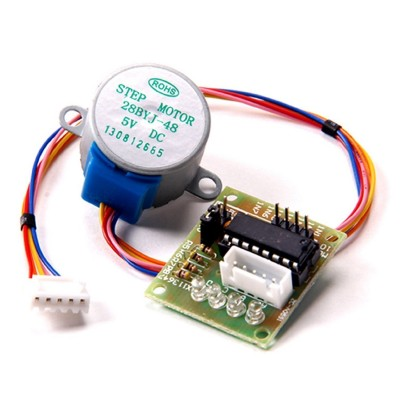 Stepper 5V DC 4-Phase 28BYJ-48 Geared + driver