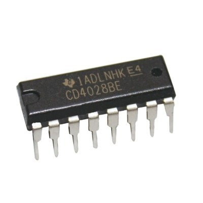 CD4028 BCD to Binary Decoder