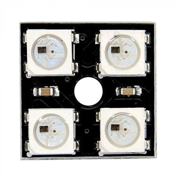 Modul CJMCU WS2812B cu 4 LED-uri RGB