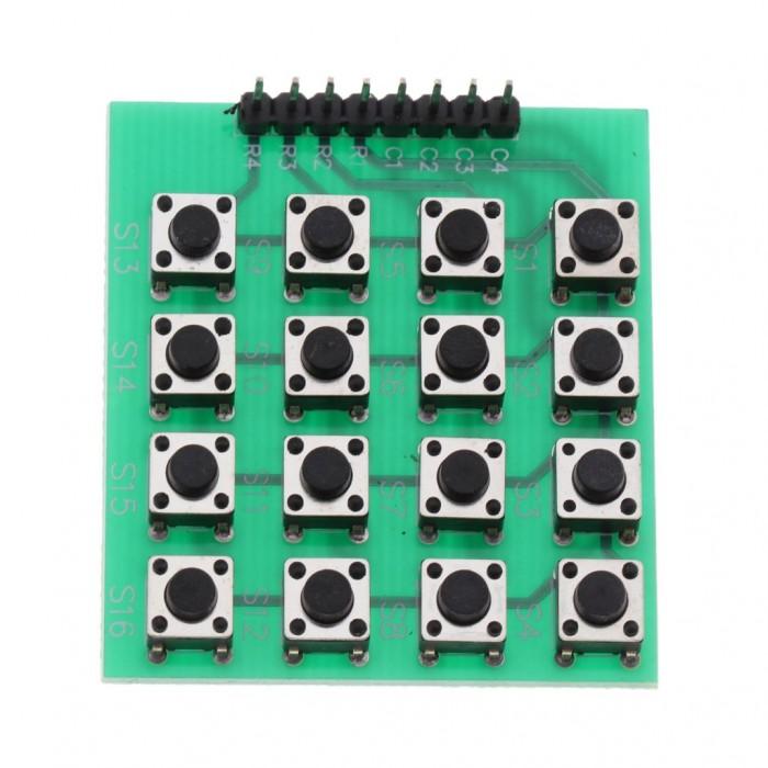 Modul tastatură matriceală 4x4