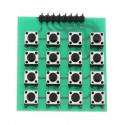 4x4 Push Button Keyboard Matrix Module