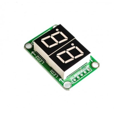 74HC595 2 segment digital display module