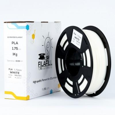 PLA Filament - PREMIUM - White - 1Kg - 1.75mm