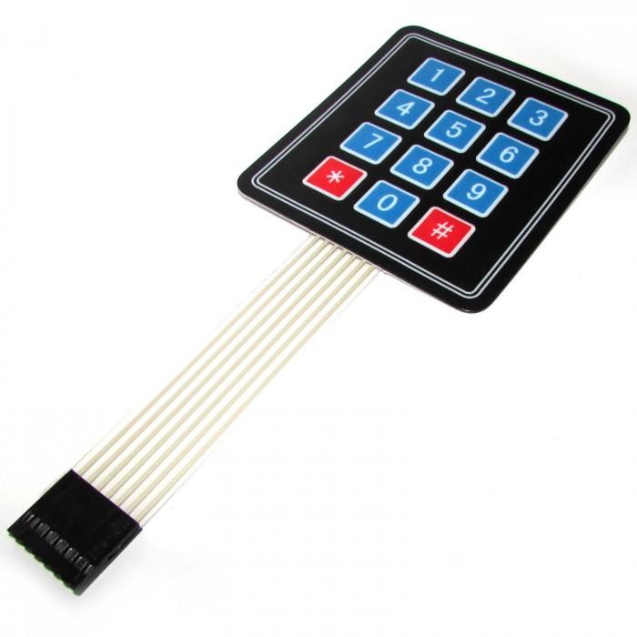 Tastatura matriciala 4x3