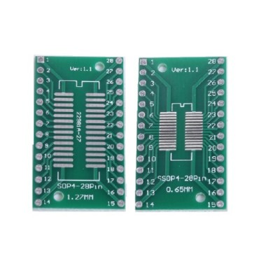 Adapter board SOP28 - DIP