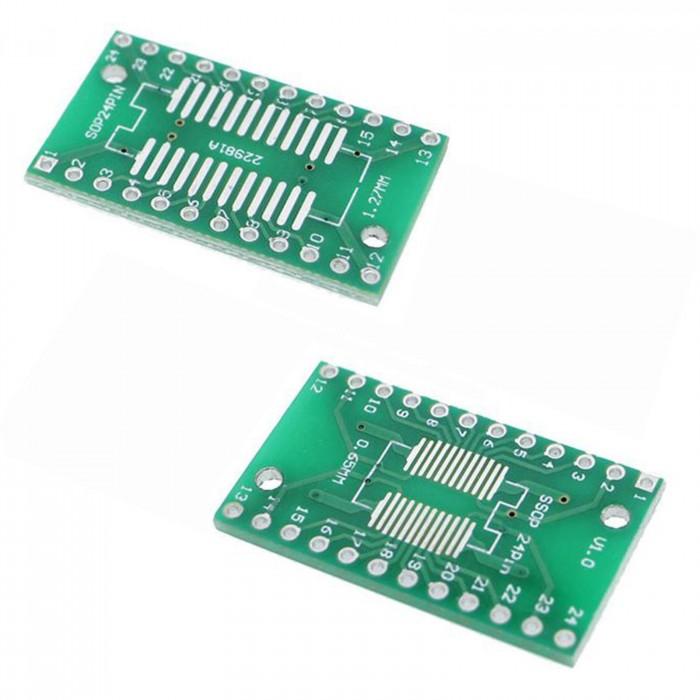 Placa adaptoare SOP24 - DIP