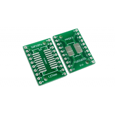Adapter board SOP20 - DIP
