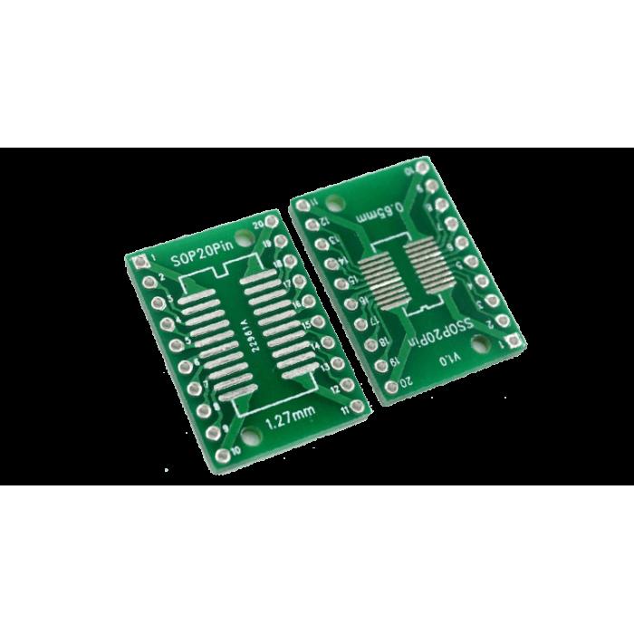 Adapter board SOP20 - DIP
