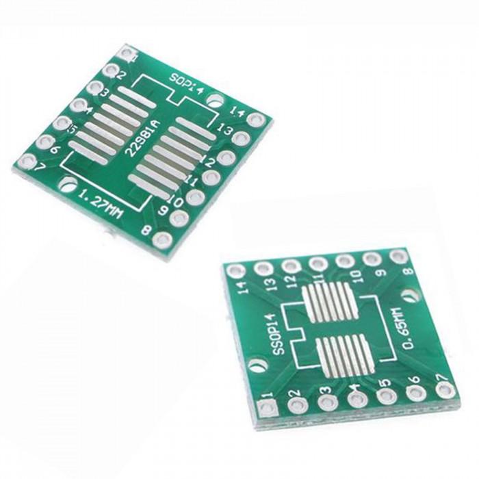 Placa adaptoare SOP14 - DIP