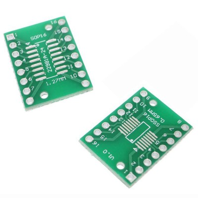 Adapter board SOP16 SSOP16 TSSOP16 to DIP16