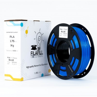 PLA Filament - PREMIUM - Blue - 1Kg - 1.75mm