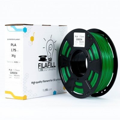 Filament PLA - PREMIUM - Verde - 1Kg - 1.75mm