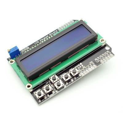 Shield LCD cu butoane 1602 Albastru