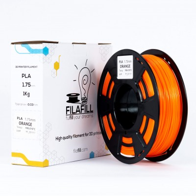 PLA Filament - PREMIUM - Orange - 1Kg - 1.75mm