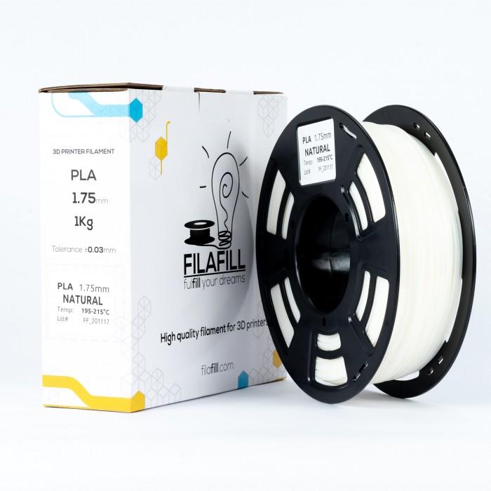 Filament PLA - PREMIUM - Natural - 1Kg - 1.75mm